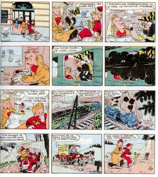 Franquin mania Spirou11