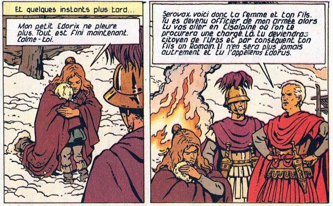 Alix Senator tome 10 : La forêt carnivore - Page 2 Vercin10
