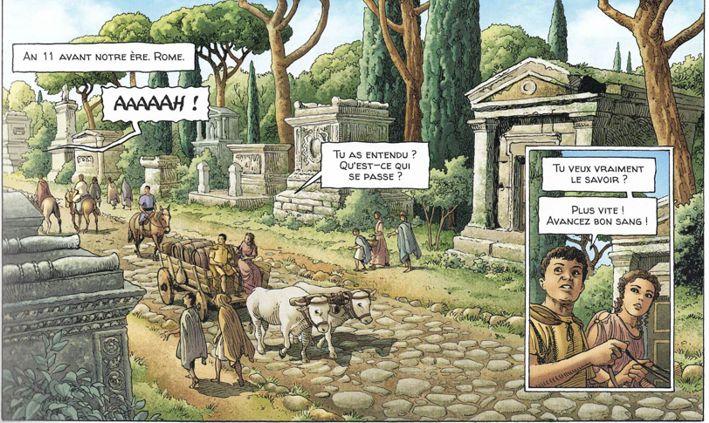 Alix Senator 9 Les Spectres de Rome - Page 2 Voie_a10
