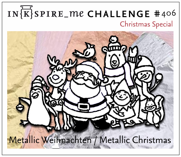 # 406 - 21.11.2019 Christmas-Special METALLIC - Heike 406_we10