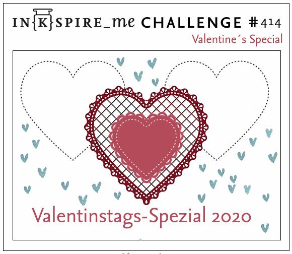 IN{K}SPIRE_me Challenge #414 - Valentine's Special
