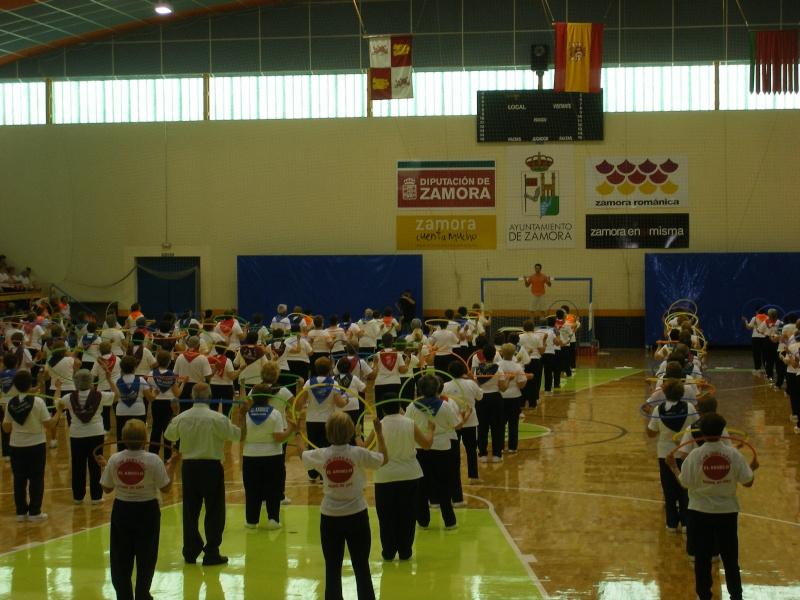 Encuentro de asociaciones de jubilados  y pensionistas  en Zamora 2010 05_10