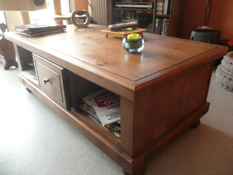 Meubles en bois : avec quel autre type de meuble moderne les Salon_10