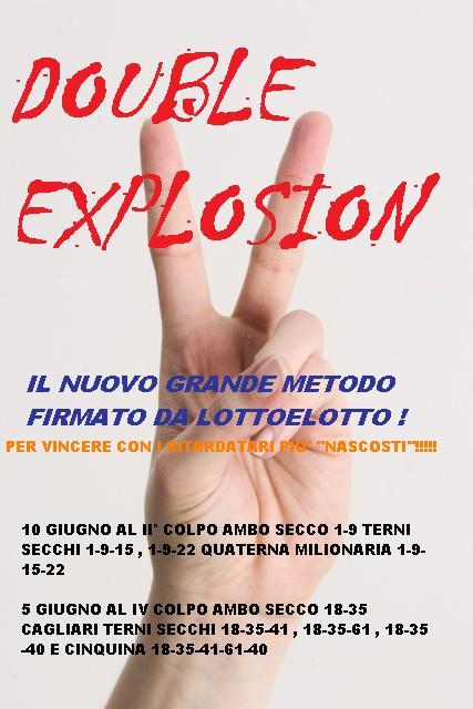 Lotto&lotto Factory: Double explosion cinquina a colpo 12-56-57-67-68 Ve e terno 11-56-67 Na Vici10