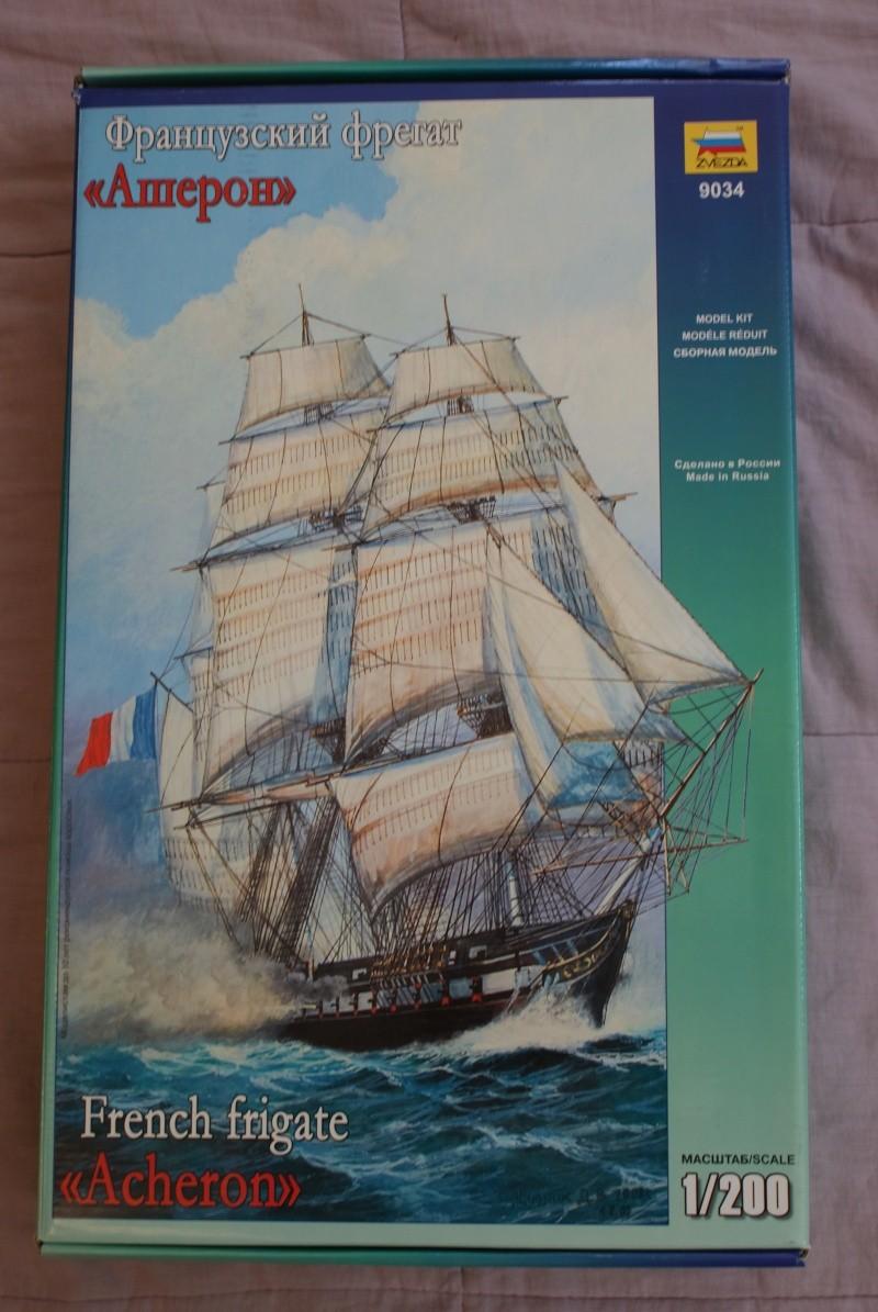 ACHERON Fregate Francaise 1:200 ZVEZDA Dsc00610
