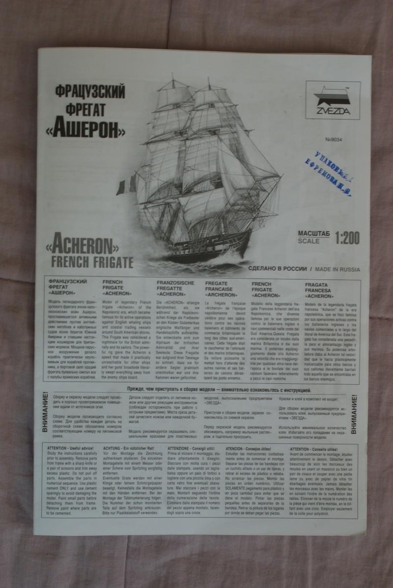 ACHERON Fregate Francaise 1:200 ZVEZDA Dsc00617