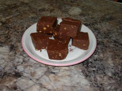 Fudge au beurre d'arachide croquant Fudge_10