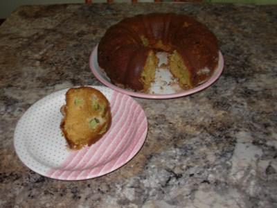 Gâteau à la rhubarbe Gateau11