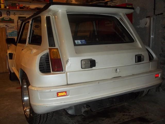 Pas très original, encore une restauration de R 5 turbo Ar111