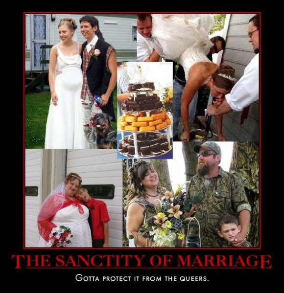 Marriage....got to save it for the people who really respect it! LOL Marria10