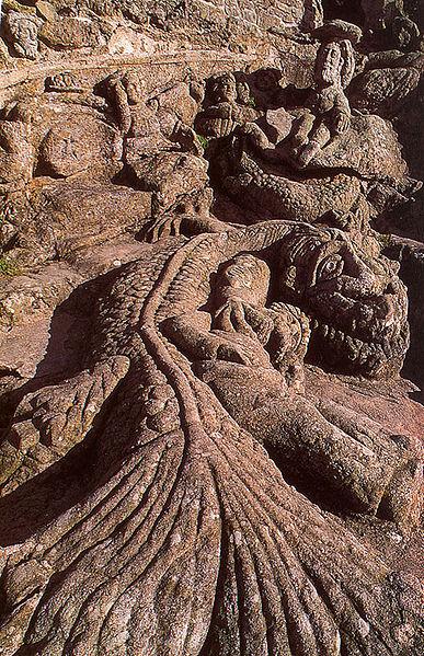 Rochers sculptés de Rothéneuf Abba3810