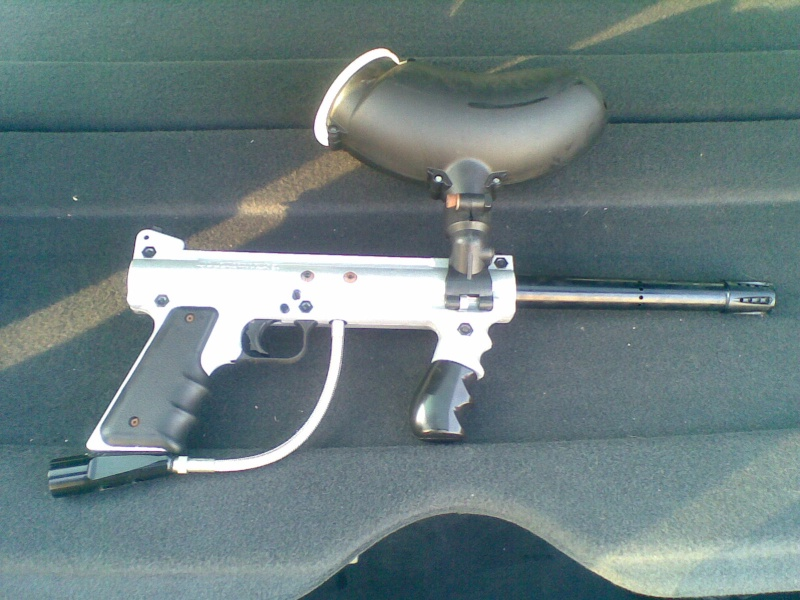 Tippmann 98 custom silver 13052010