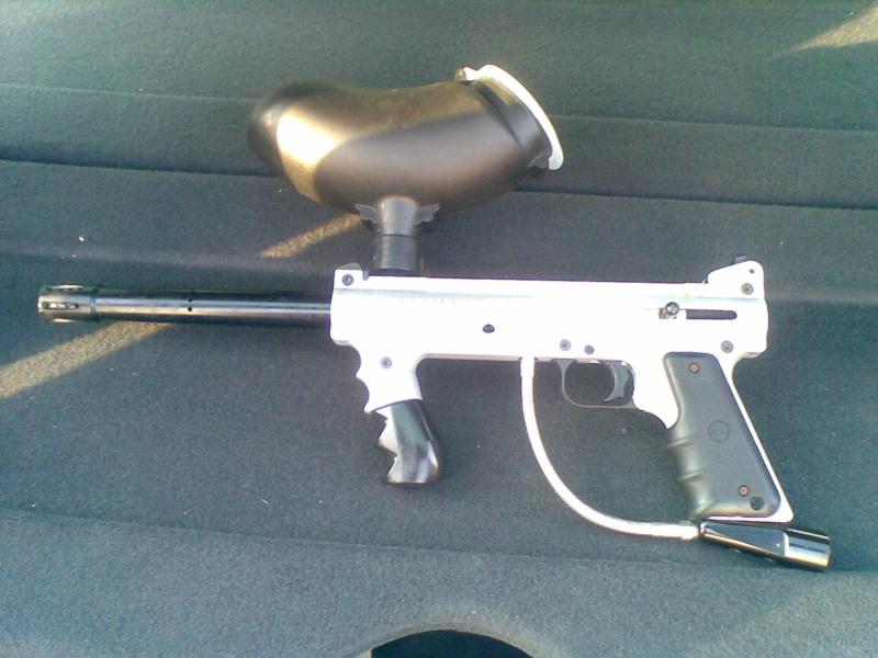 Tippmann 98 custom silver 13052011