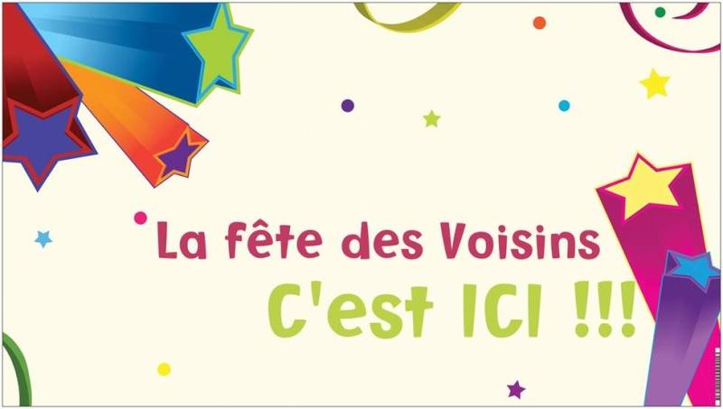 Carte Invitation Fete Des Voisins à Imprimer Gratuite