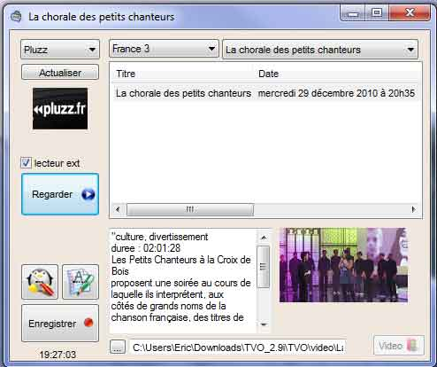 Le logiciel TVO Tvo10