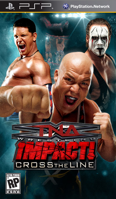 TNA IMPACT CROSS THE LINE (PSP & DS) Southp10