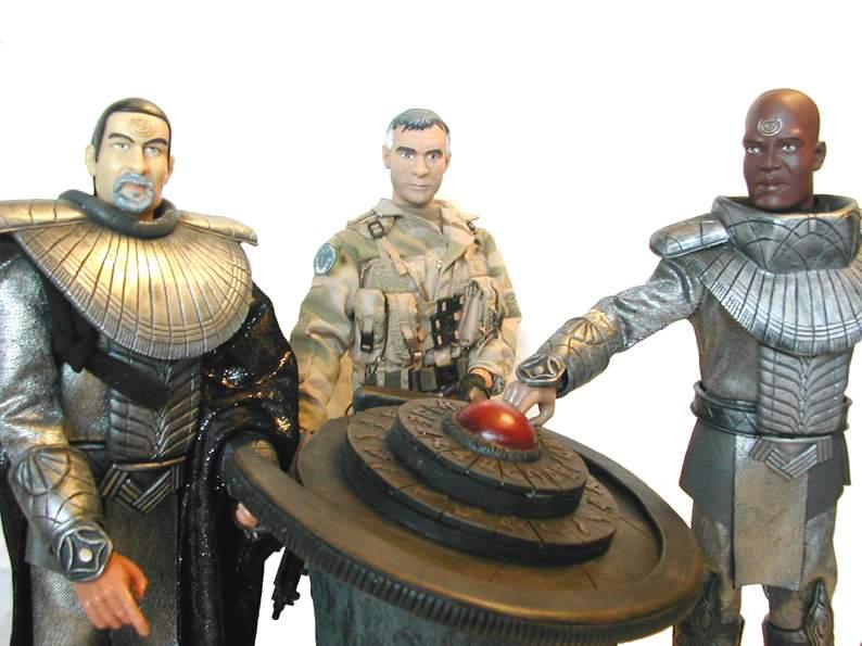 Stargate équipe SG1 et autres protagonistes Groupe10