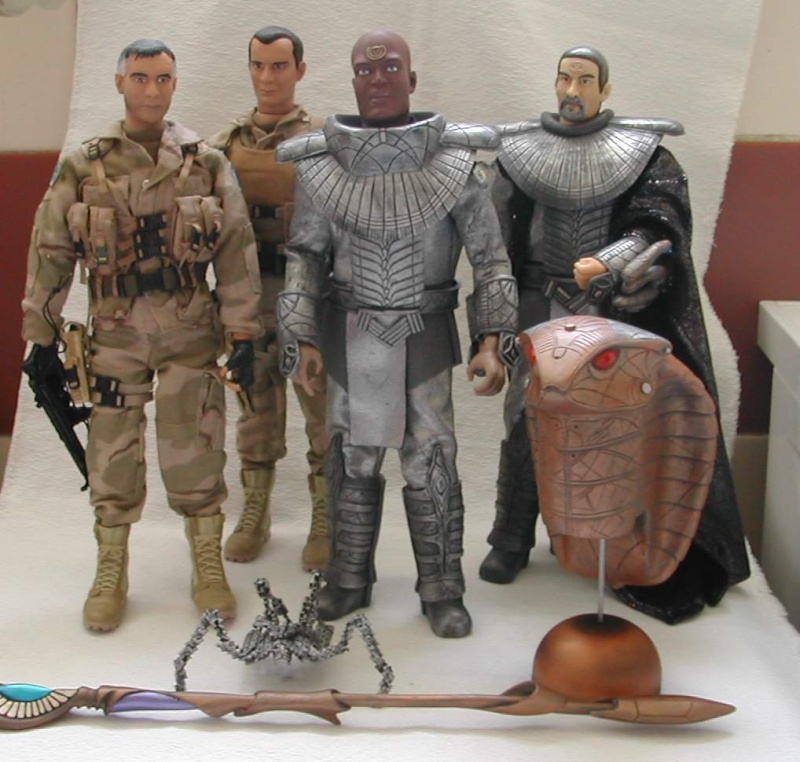 Stargate équipe SG1 et autres protagonistes Starga10