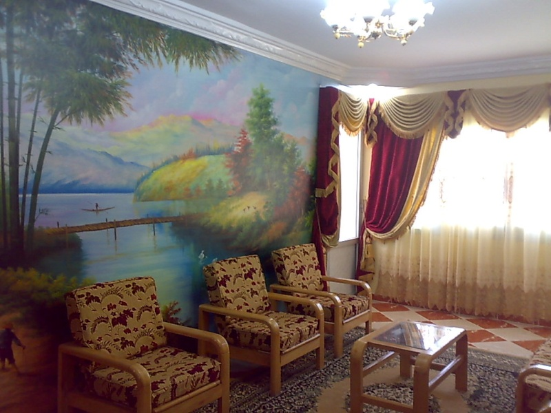 شقة تشطيب سوبر لوكس مستوي فندقي للإيجار ثلاثة غرف وصالة -  المجموعة التاسعة - المعمورة Uuuuu221