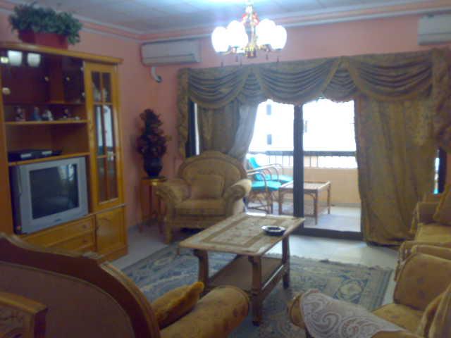 شقة سوبرررر لوكس مكيفة للإيجار في الدور الخامس 4 تكيف -عمارة لاباس  المعمورة الشاطيء Uuuuuu88