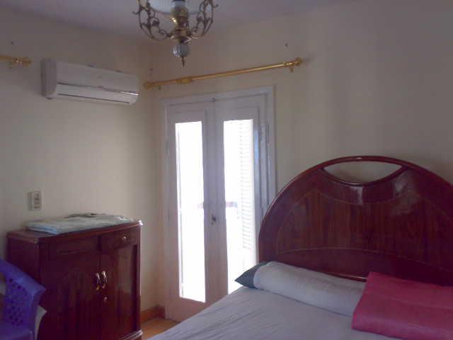 شقة سوبرررر لوكس مكيفة للإيجار في الدور الخامس 4 تكيف -عمارة لاباس  المعمورة الشاطيء Uuuuuu91