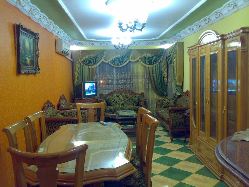 شقة مكيفة مستوي فندقي فاخر سوبرر لوكس ثلاث غرف وصالة للإيجار مفروش - المجموعة العاشرة - المعمورة  Uuuuyu10