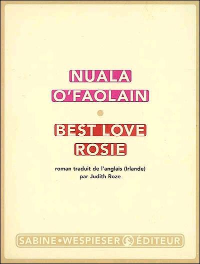 [O'Faolain, Nuala] Best Love Rosie 1810
