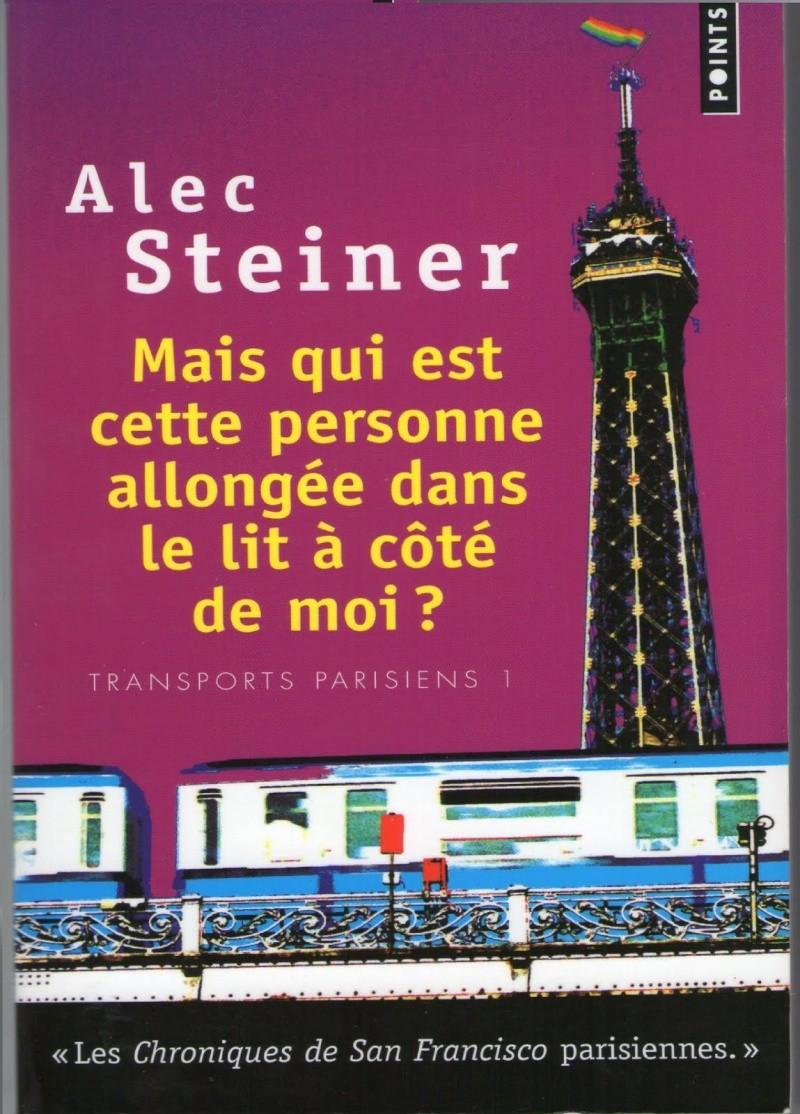 [Steiner, Alec] Transports parisiens Tome 1 : Mais qui est cette personne allongée dans le lit à côté de moi? Maisqu10