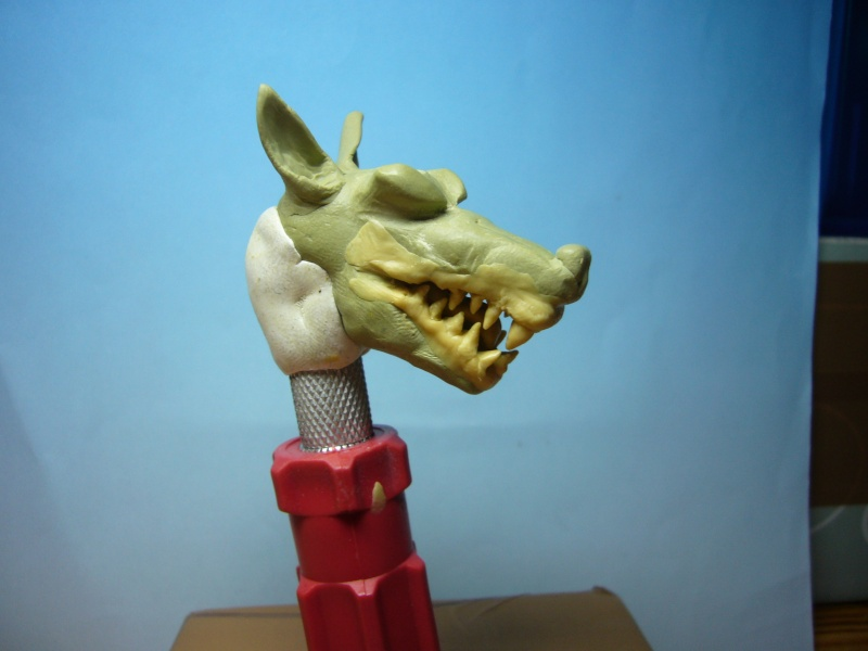 Mon bazar de sculpture de novice Worgen10