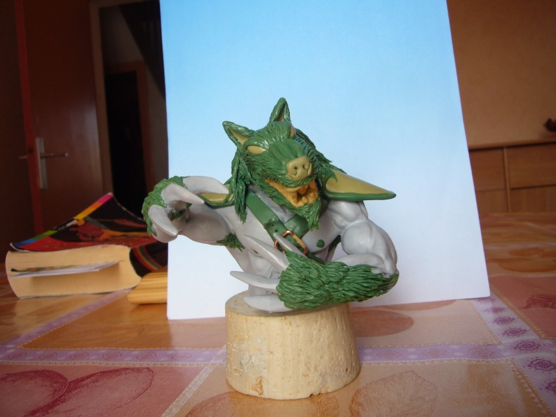 Mon bazar de sculpture de novice Worgen31