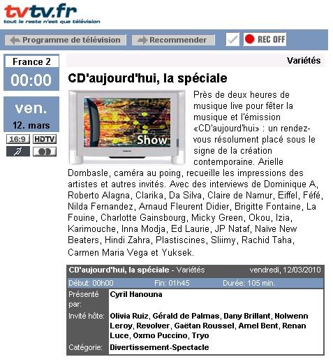 Les news du PAF - Page 5 Tvcda10