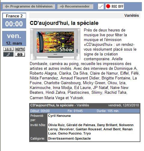 """Renan Luce à la """"Spéciale CDA"""" Tvtvcd10"""