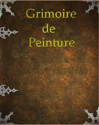 [TUTOS]  GRIMOIRE DE PEINTURE  (recueil de tuto) - Page 3 Couv11