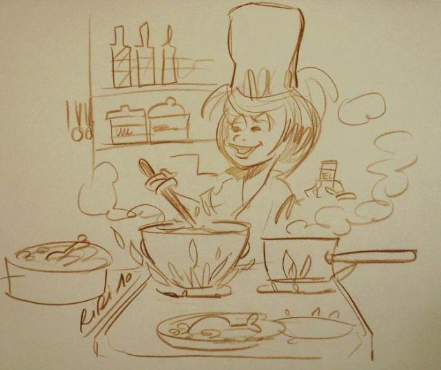 Le jeu des 5 minutes - Tome 10 : La cuisine P1010910