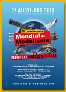 Participer aux démos Extérieur du Salon Mondial du Modélisme 2010 Affich10