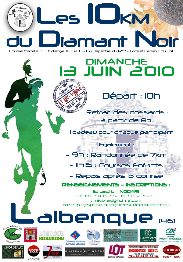 10km du Diamant Noir 2010 : news, infos, questions... 10km_d10