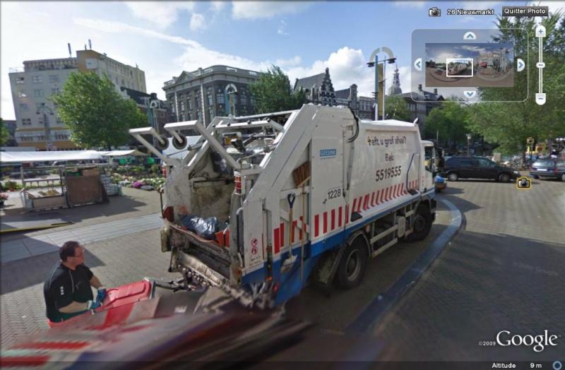 STREET VIEW : Les camions-poubelles, sujet glamour ! - Page 2 Camion10