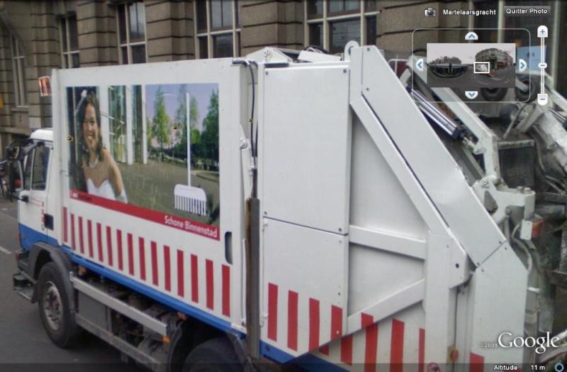 STREET VIEW : Les camions-poubelles, sujet glamour ! - Page 2 Camion11