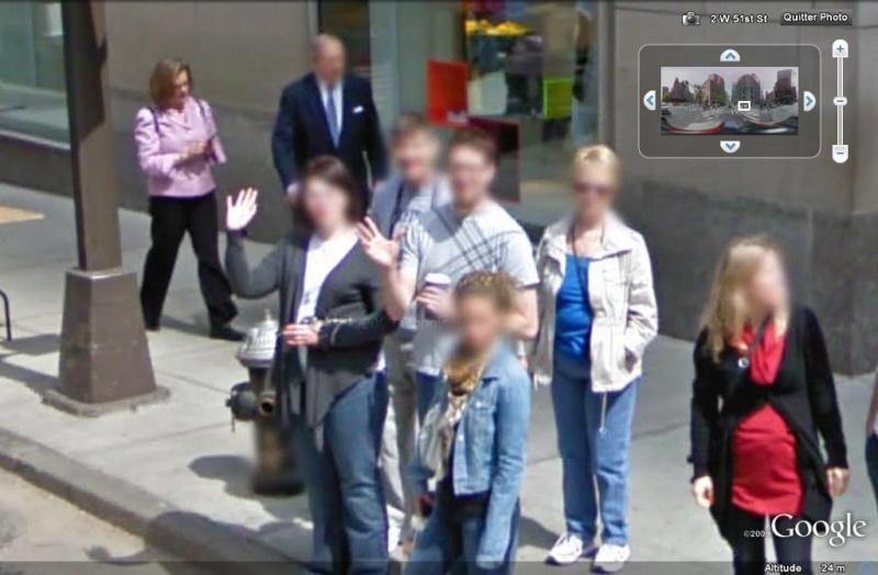 STREET VIEW : un coucou à la Google car  - Page 5 Coucou16