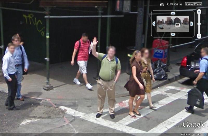 STREET VIEW : un coucou à la Google car  - Page 5 Coucou18