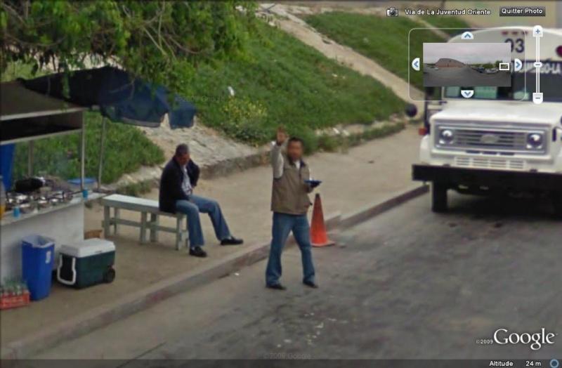 STREET VIEW : un coucou à la Google car  - Page 5 Coucou19