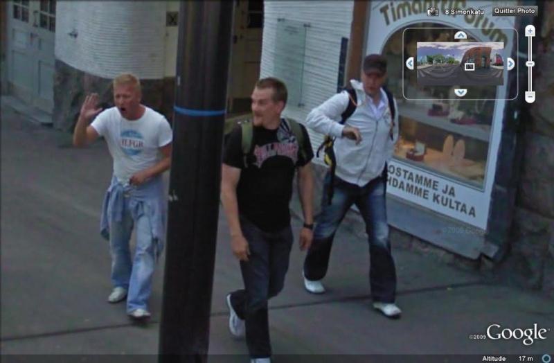 STREET VIEW : un coucou à la Google car  - Page 5 Coucou20