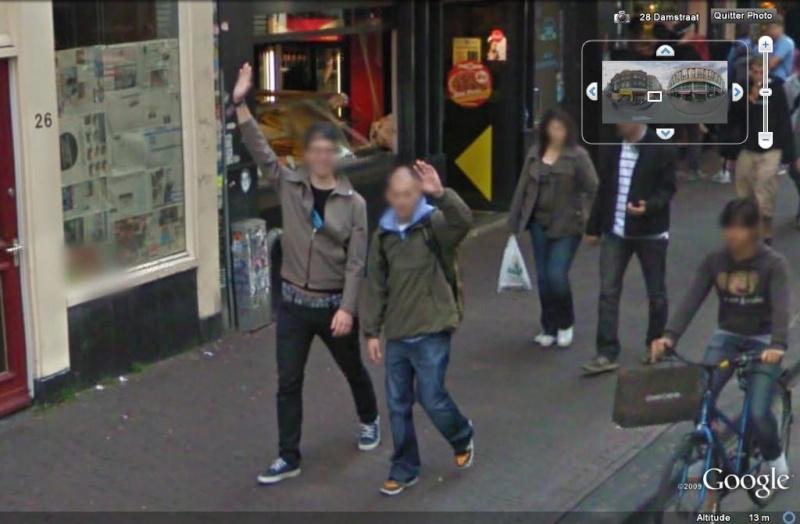 STREET VIEW : un coucou à la Google car  - Page 5 Coucou21