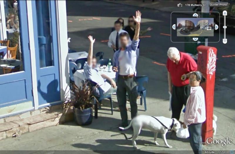 STREET VIEW : un coucou à la Google car  - Page 51 Coucou23