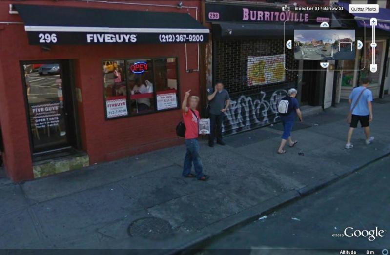 STREET VIEW : un coucou à la Google car  - Page 6 Coucou26