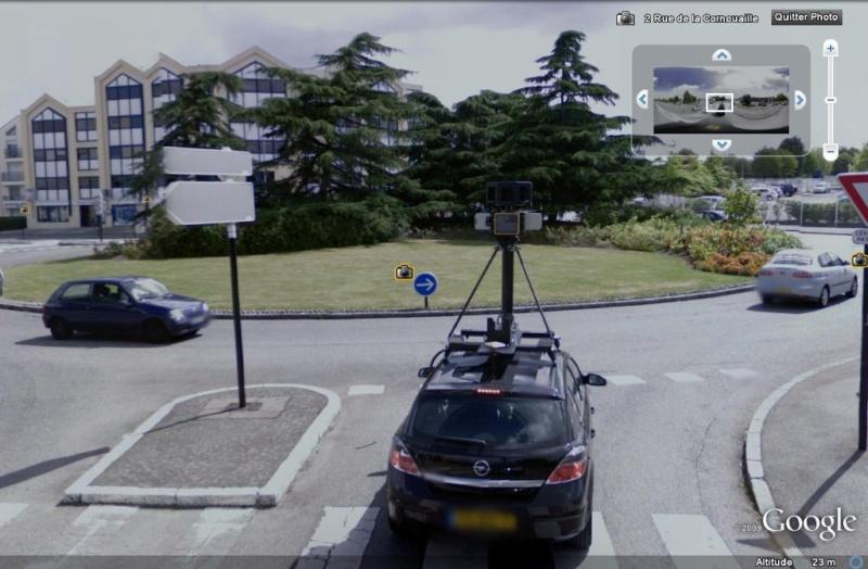 STREET VIEW : la Google car dans tous ses états ! - Page 2 Google10