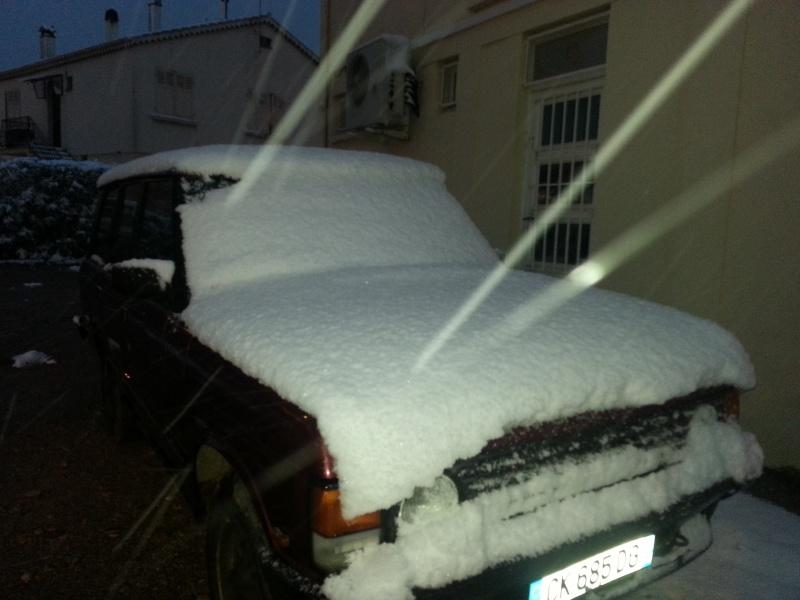 neige dans le var  20130224