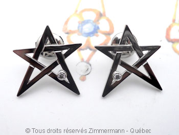 B.O. Étoile Platine et diamants Boplat10