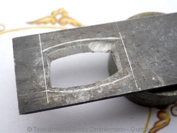 Pendentif Citrine et Diamant bleu Peafb011