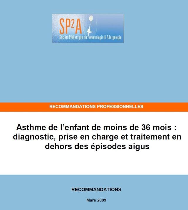 Asthme de l'enfant de moins de 36 mois : diagnostic, prise en charge et traitement Asthme10